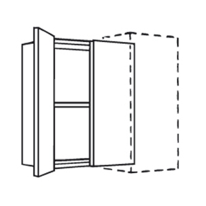 Corner Wall Unit 1