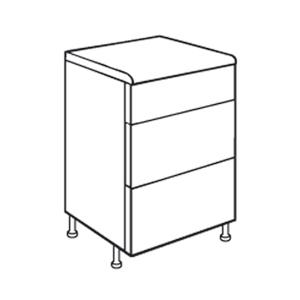 Pan 3 Drawer Pack 1