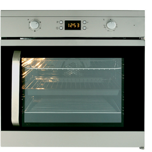 Single Side Opening Fan Oven with Programmable LED Timer 1