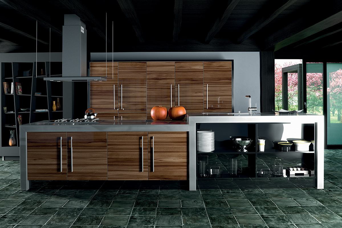 Gloss Marino Siena Kitchen