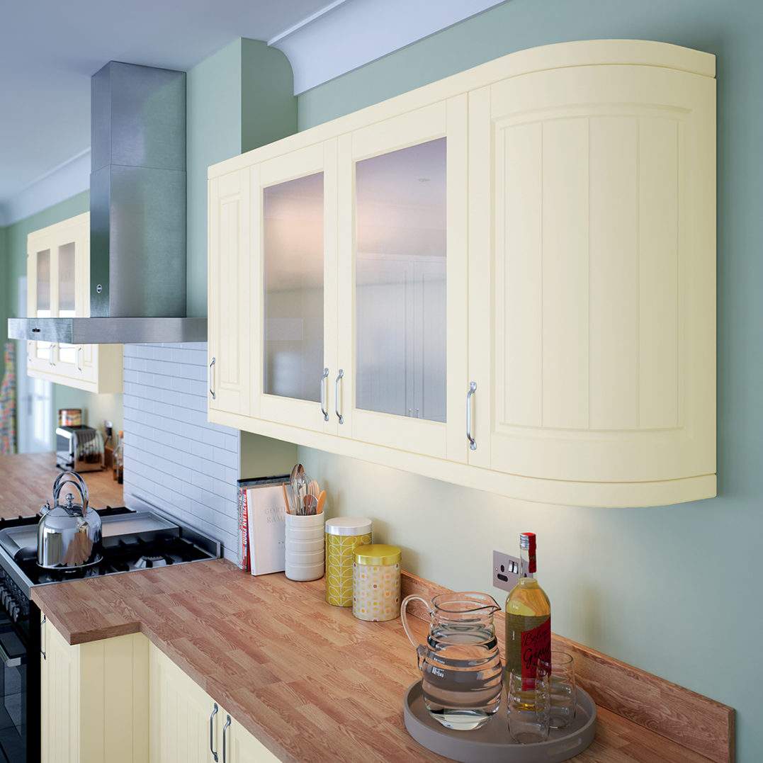 Boston New Cameo Kitchen with cooker hood